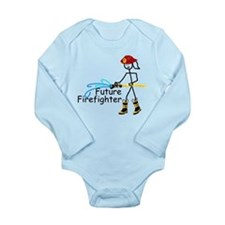 Future Firefighter Long Sleeve Infant Bodysuit