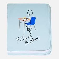 Future Author baby blanket