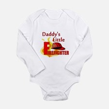 Little Firefighter Long Sleeve Infant Bodysuit
