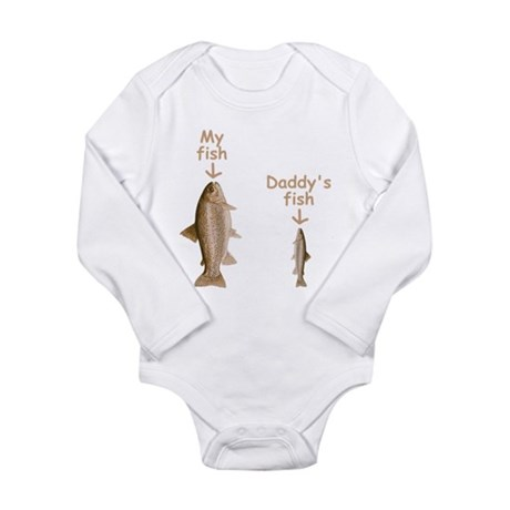 My fish daddy 39 s fish onesie romper suit by mykidentity for Fish daddy s