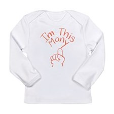1 This Many Long Sleeve Infant T-Shirt