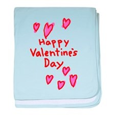 Valentines Hearts baby blanket