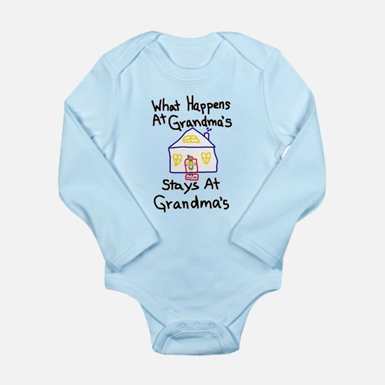 Grandma's House Long Sleeve Infant Bodysuit