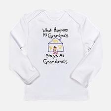 Grandma's House Long Sleeve Infant T-Shirt