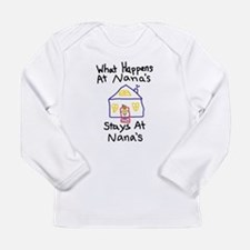 Nana's House Long Sleeve Infant T-Shirt