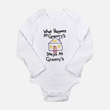 Granny's House Long Sleeve Infant Bodysuit