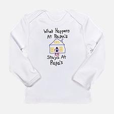 Papa's House Long Sleeve Infant T-Shirt
