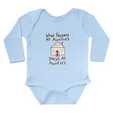 Auntie's House Long Sleeve Infant Bodysuit