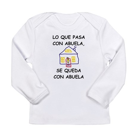 Con Abuela Long Sleeve Infant T-Shirt