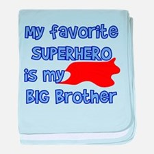 Big Brother Superhero 5739600 baby blanket