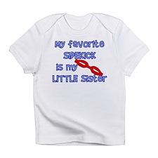 Little Sister Sidekick Infant T-Shirt