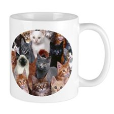 16 Cats - Mug