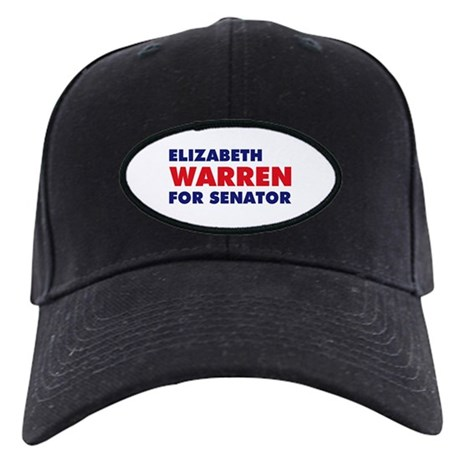 Warren for Senator Black Cap