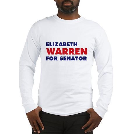 Warren for Senator Long Sleeve T-Shirt