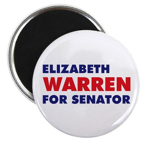 """Warren for Senator 2.25"""" Magnet (10 pack)"""
