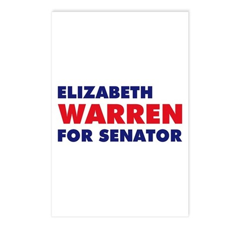 Warren for Senator Postcards (Package of 8)
