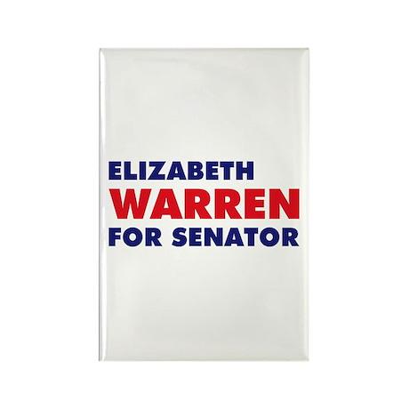 Warren for Senator Rectangle Magnet