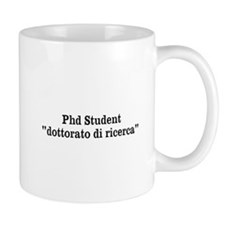 Phd Student Mug