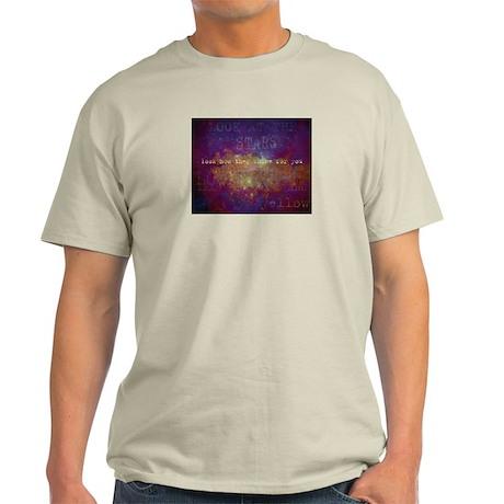 Look At The Stars Light T-Shirt