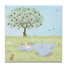 Apple Tree - Duck Pond Tile Coaster