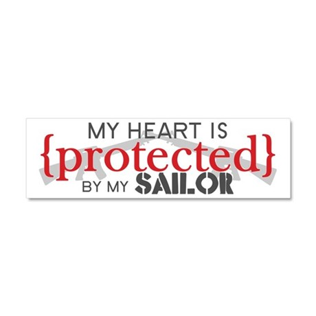Protected Car Magnet 10 x 3