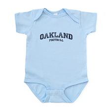 Oakland Football Infant Bodysuit