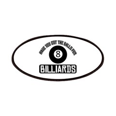 Got the balls for Billiards Patches