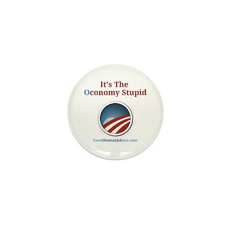 It's The Oconomy Stupid Mini Button (100 pack)