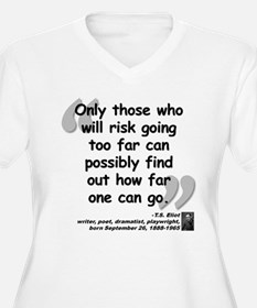 Eliot Risk Quote T-Shirt
