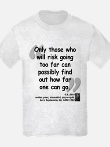 Eliot Risk Quote T-Shirt