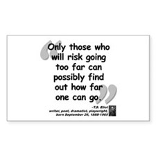 Eliot Risk Quote Decal