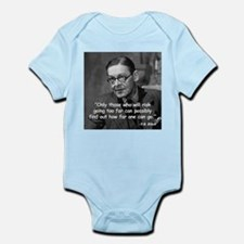 Eliot Risk Quote Infant Bodysuit
