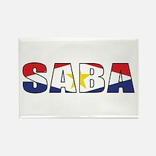 Saba Rectangle Magnet