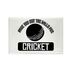 Got the balls for Cricket Rectangle Magnet (10 pac