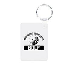 Got the balls for Golf Keychains