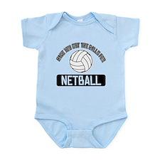 Got the balls for Netball Onesie
