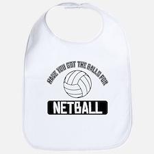 Got the balls for Netball Bib