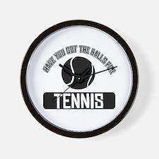 Got the balls for Tennis Wall Clock