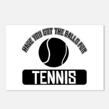 Got the balls for Tennis Postcards (Package of 8)