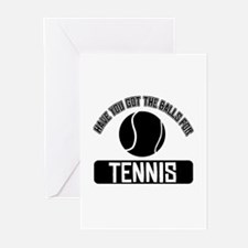 Got the balls for Tennis Greeting Cards (Pk of 10)