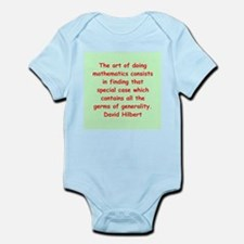 David Hilbert Infant Bodysuit