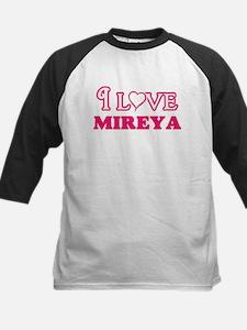 I Love Mireya Baseball Jersey