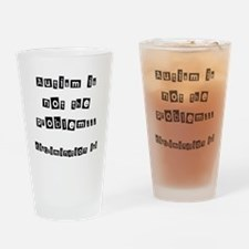 Anti discrimination -autism Drinking Glass