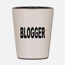 Blogger Shot Glass