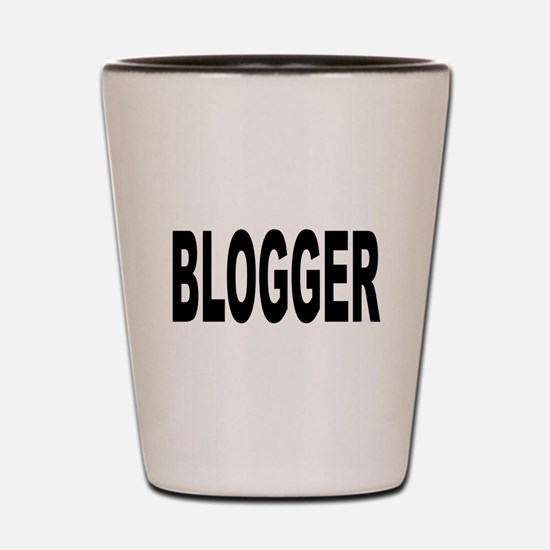 Blogger Shot Glass