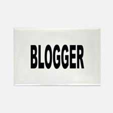 Blogger Rectangle Magnet