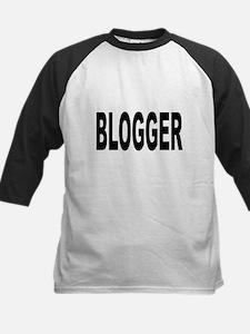 Blogger Kids Baseball Jersey