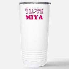 I Love Miya Travel Mug