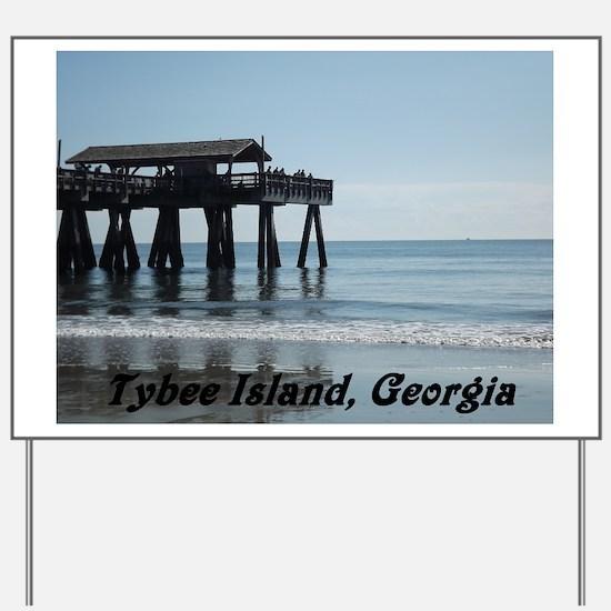 Tybee Island Georgia 17 Yard Sign