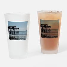 Tybee Island Georgia 17 Drinking Glass